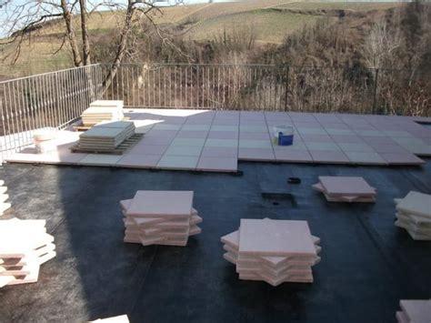 guaina terrazzo pavimento galleggiante su guaina di terrazzo una