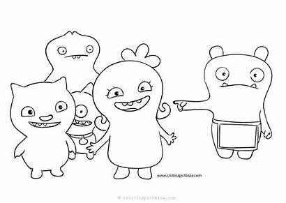 Ugly Dolls Coloring Pages Uglydolls