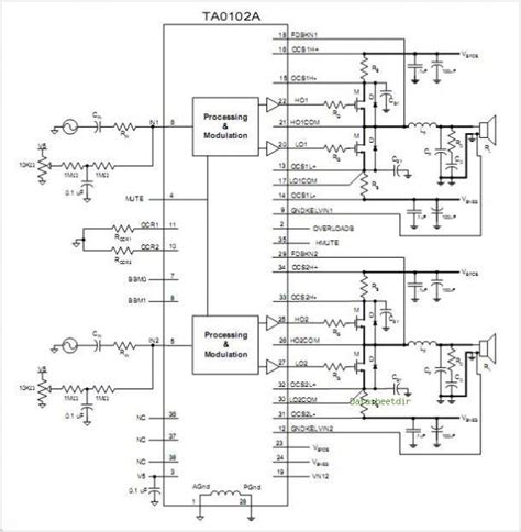 Teab Amplifier Circuit Diagram Images