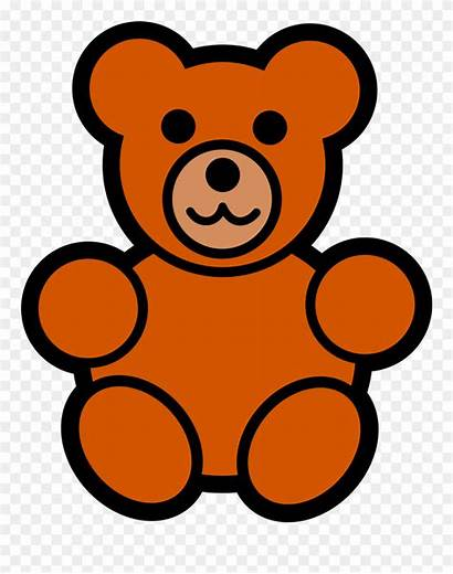 Teddy Bear Cartoon Bears Clipart Easy Clip
