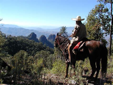 mexico horse vacation riding horseback bravo valle realadventures microclimates multiple views