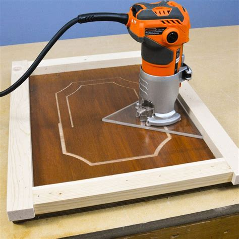 trim router palm router design base jig router