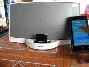Bose Sounddock 1 With Bluetooth Adapter