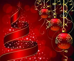Red Christmas beauty 3D and CG & Abstract Background
