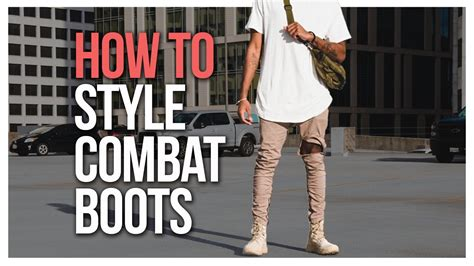 How Style Combat Boots Youtube