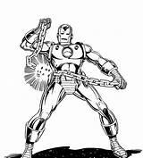 Coloring War Iron Machine Pdf Printable sketch template