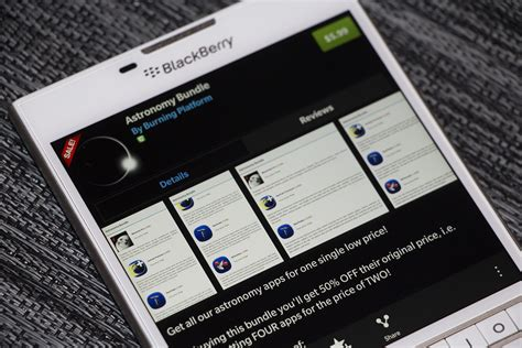 astronomy bundle for blackberry 10 offers five great astronomy apps for one low price