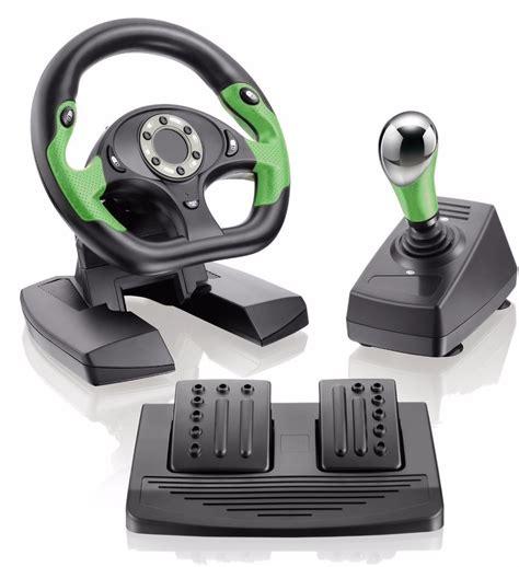 volante xbox 360 pc volante xbox 360 pc dual shock pedal e cambio r 379