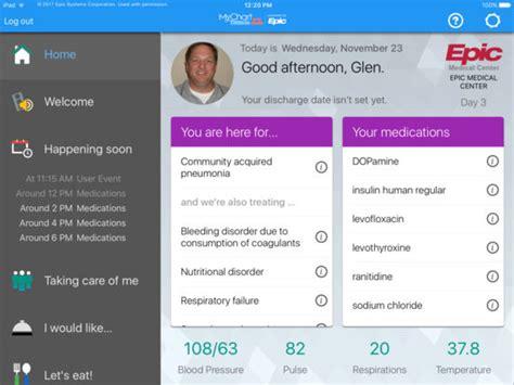 app shopper mychart bedside medical