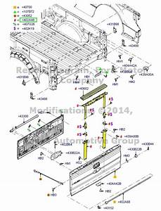 2013 Ford F 150 Tailgate Parts Diagram