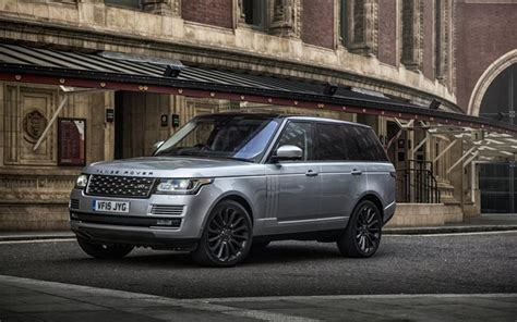 Land Rover Range Rover Backgrounds by Wallpapers Range Rover Vogue Luxury Cars 2017