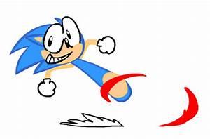 Dumb Running Sonic | Gotta go fast fast gotta go! by ...