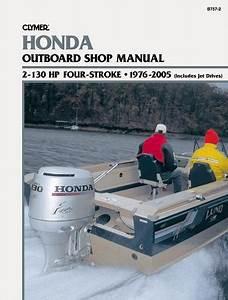Honda Outboard Motor Shop Manual 2