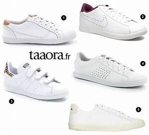 Tendance Chaussures Automne Hiver 2016 : baskets blanches automne hiver 2015 2016 taaora blog ~ Melissatoandfro.com Idées de Décoration