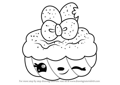 Gambar Learn Draw Cherry Ann Num Noms Step Coloring Pages