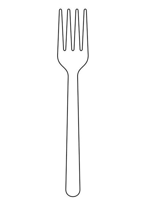 100 pics ustensiles de cuisine coloriage fourchette img 19154