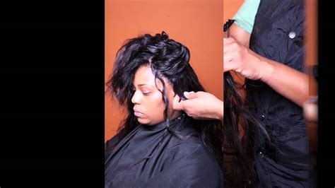 Sewin Weave By Kay Sa'rah With Indique Hair Pure Curly 12