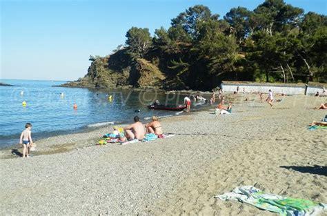 plage bernardi port vendres  pyrenees orientales