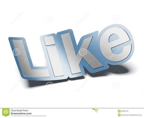 Like Symbol Stock Illustration. Image Of Friendship