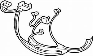 Dodge Dakota Console Wiring Harness  1997 O Map Lamp