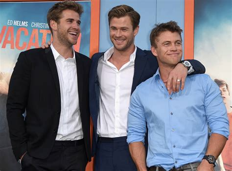 the fascinating tale of the hemsworth brothers how chris
