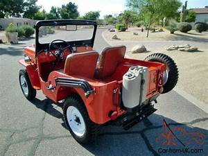 Restored 1960 Willys Cj3b