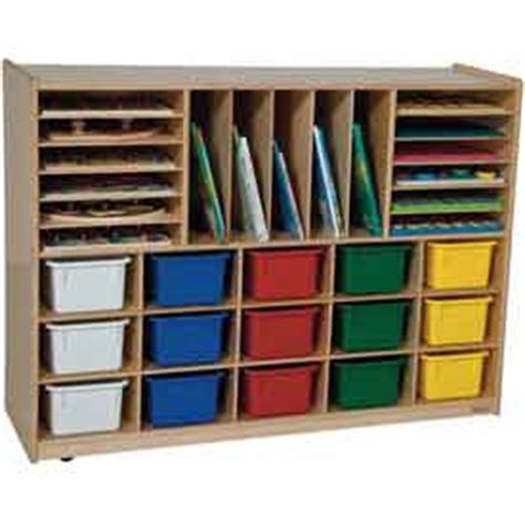 school furniture preschool cubbies portfolio cubby 519 | 87807
