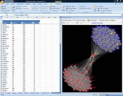 Excel Templates Spreadsheet Nodexl Advanced Network Microsoft