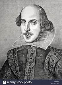 William Shakespeare (1564-1616) Portrait by Martin ...