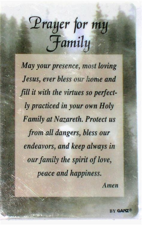 Please Pray For My Family Quotes