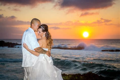 Hawaii Sunset Wedding Hawaii Weddings