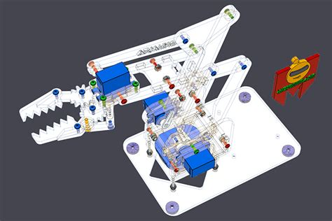build   robot arm open source plans  cad files
