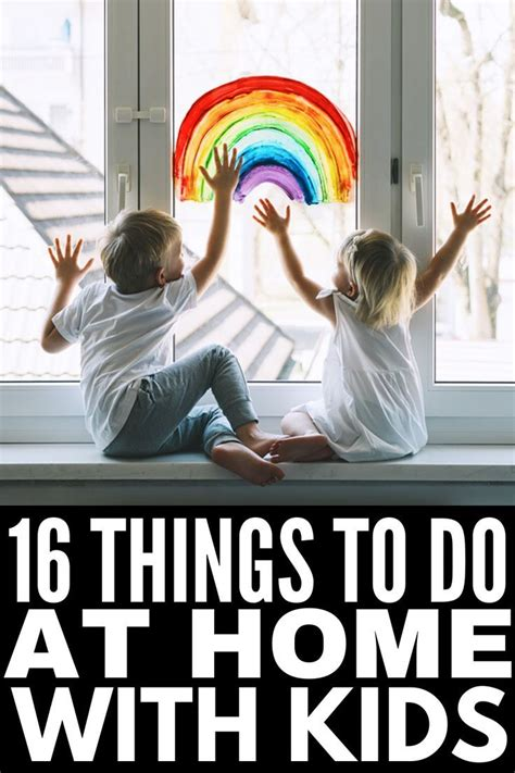 Summer Camp Cancelled? 16 Things to Do At Home with Kids