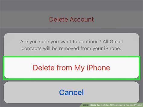 delete contacts iphone 3 easy ways to delete all contacts on an iphone wikihow