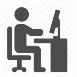 Computer Icons Free Person at Desk