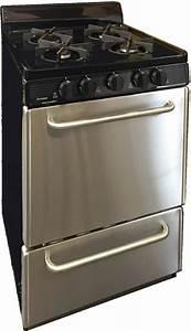 Premier Sjk600bp 24 Inch Freestanding Gas Range With 4