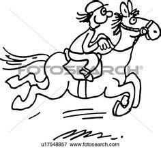 dribbble cartoon racing horse jockey sketch cleanup