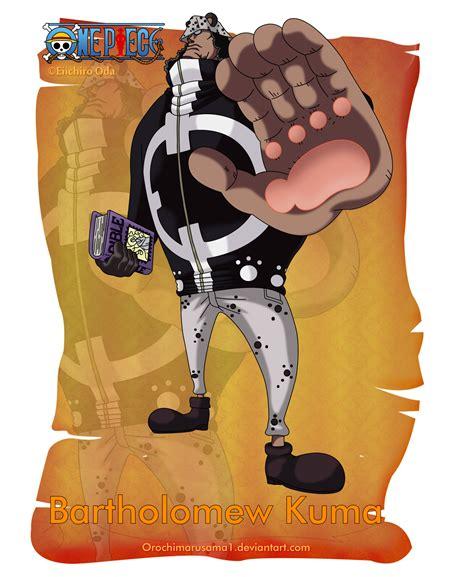 kuma piece bartholomew orochimarusama1 anime deviantart shichibukai naruto wallpapersafari caesar clown cosplay