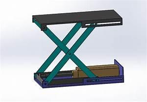 Pneumatic Scissor Lift Jack Project
