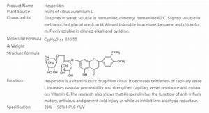 Hespéridine : définition de hespéridine