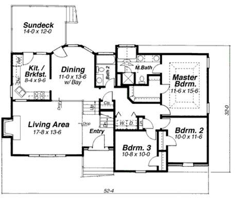 Split Foyer Floor Plans by Split Foyer Format 9218vs Architectural Designs