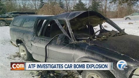 Atf Investigates Car Bomb Explosion