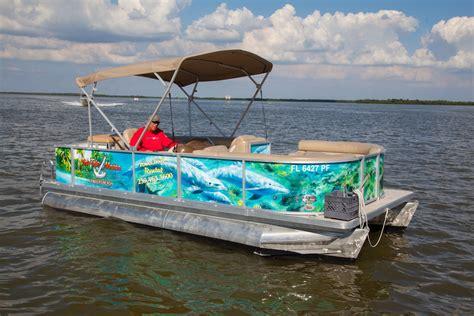 ft pontoon boat fish tale marina