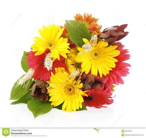 Bouquet D'automne Des Fleurs De Gerbera Photographie Stock