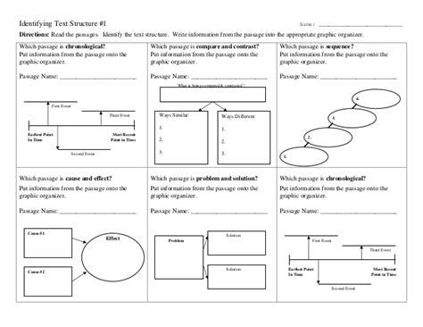 4th grade text structure worksheets worksheets for all