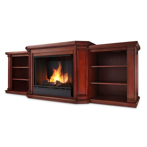 Real Flame Valmont Entertainment Center Ventless Gel