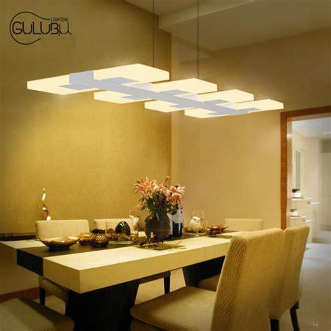Led Lights In Dining Room by 6 8 Lights Kitchen Led Lighting Chandelier Rectangular