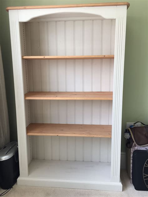 Pine Bookcase by An Pine Bookcase Updated With Cotton And