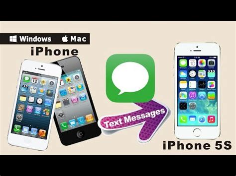 do text messages transfer to new iphone iphone to iphone 5s 6 6 sms transfer how to transfer
