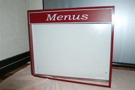 porte menu exterieur occasion porte menu mural ext 201 rieur lumineux 224 150 86000 poitiers vienne poitou charentes